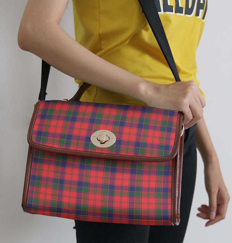 Tartan Bag - Robertson Modern Canvas Handbag A9