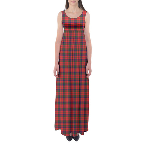 Robertson Modern Tartan Empire Waist Maxi Dress HJ6 |Clothing| Love The World