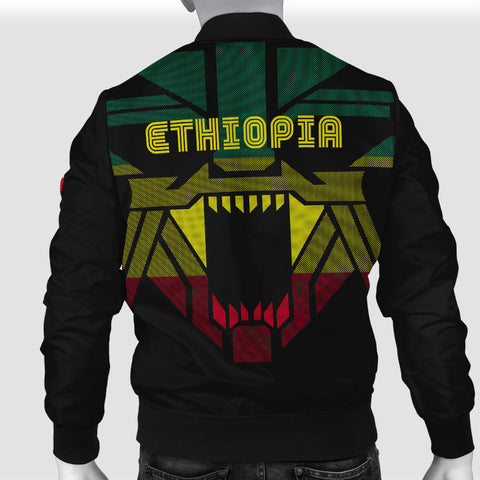 Ethiopia Bomber Jacket Strong Lion A15