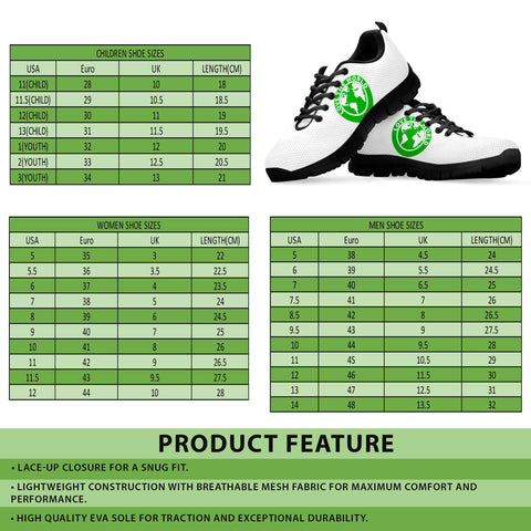New Zealand Sneaker - Koru Fern (Men's/Women's) A9