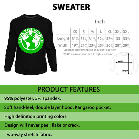 Image of Canada Sweatshirt - Christmas and Halloween A02