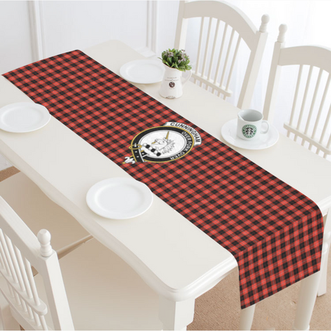 Image of Cunningham Modern Tartan Table Runner - BN