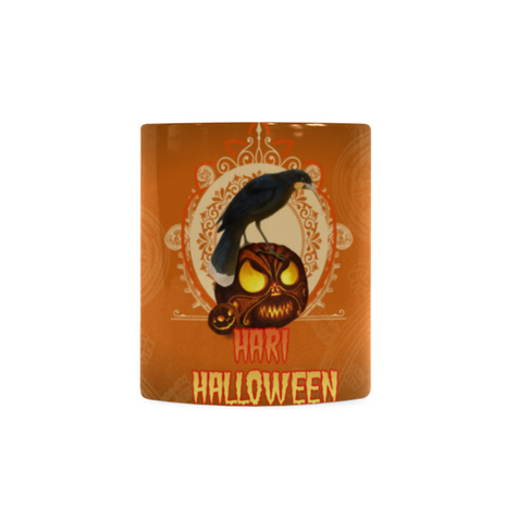 Image of Hari Halloween With New Zealand Huia Mug - hari halloween, huia bird, halloween new zealand, mug, accessories, online shopping, halloween gift