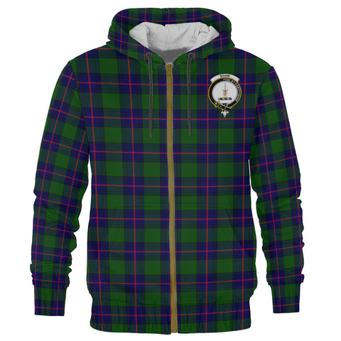 Shaw (of Tordarroch) Clan Tartan Zip Hoodie | Men & Women | Clothing