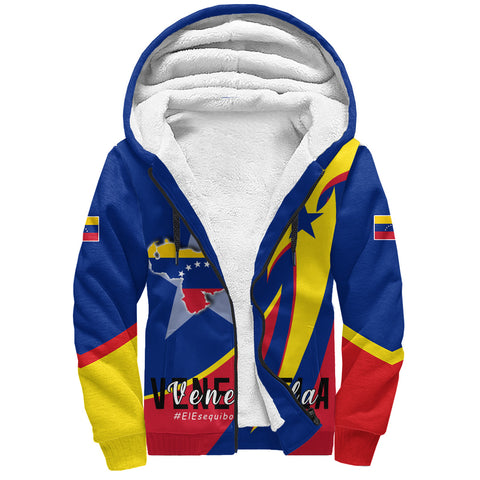 Image of 1stTheWorld Sherpa Hoodie - Venezuela In My Heart A30