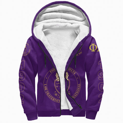 Phi Alpha Delta Sherpa Hoodie A27