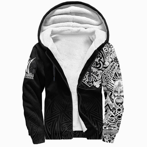 Viking Sherpa Hoodie - See You In Valhalla A31