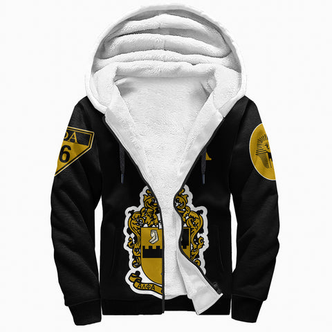 Alpha Phi Alphla Establish 1906 Sherpa Hoodie A27