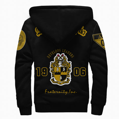 Image of Alpha Phi Alphla Establish 1906 Sherpa Hoodie A27