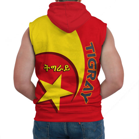 1stTheWorld Tigray Sleeveless Hoodie New Release A25