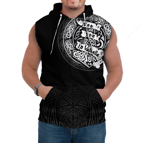 Viking Sleeveless Hoodie - See You In Valhalla A31