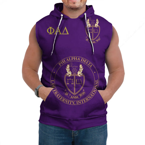 Image of Phi Alpha Delta Sleeveless Hoodie A27
