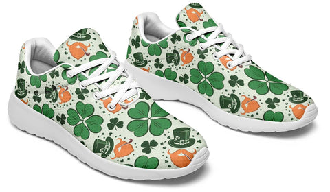 Celtic Ireland Sneakers - Ireland Shamrock Happy St. Patrick's Day