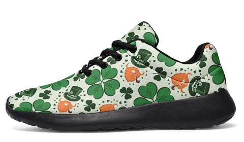 Image of Celtic Ireland Sneakers - Ireland Shamrock Happy St. Patrick's Day