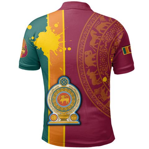 Sri Lanka Spirit Polo Shirt