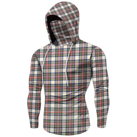 Stewart Dress Ancient Tartan Bandana Hoodie A7