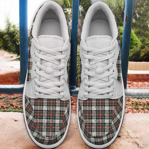 Stewart Dress Ancient Tartan Jordan Low Top Shoes (Women's/Men's) A7