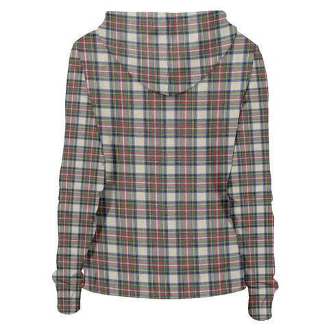 Image of Tartan Zip Hoodie -Stewart Dress Ancient | Men & Women | Clothing