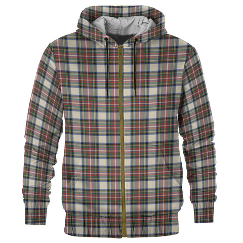 Tartan Zip Hoodie -Stewart Dress Ancient | Men & Women | Clothing