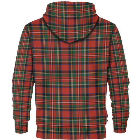 Tartan Zip Hoodie -Stewart Royal Modern | Men & Women | Clothing