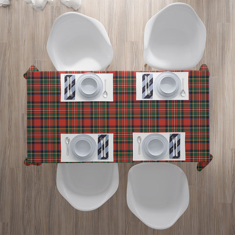 Stewart Royal Modern Tartan Tablecloth |Home Decor