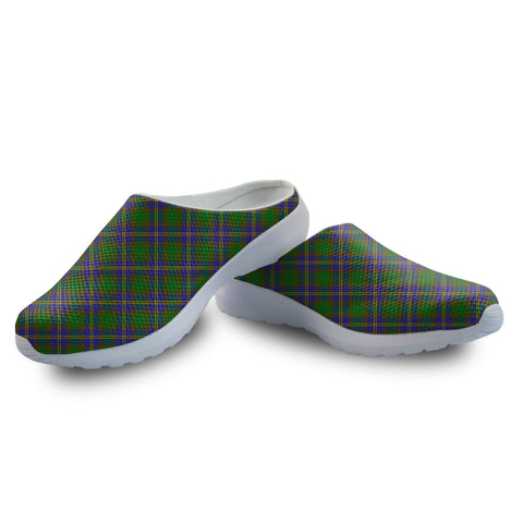 Strange of Balkaskie Tartan Back Open Shoes | 1sttheworld.com