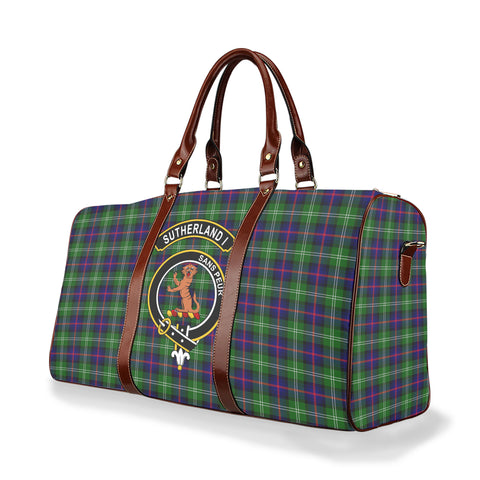 Tartan Travel Bag - Sutherland I Clan | Scottish Travel bag | 1sttheworld