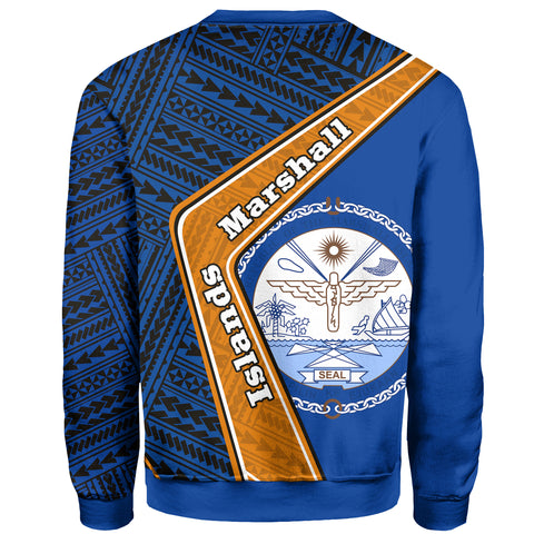 Image of Marshall Islands Sweatshirt - Polynesian Coat Of Arms | Love The World