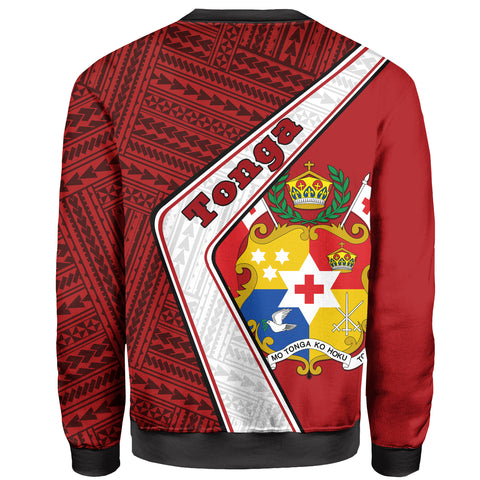 Tonga Sweatshirt - Polynesian Coat Of Arms | Love The World