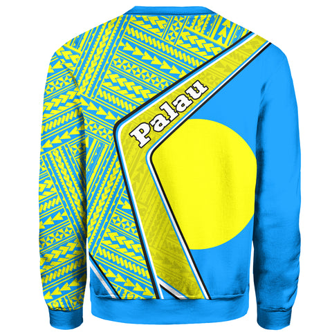 Image of Palau Sweatshirt - Polynesian Coat Of Arms | Love The World