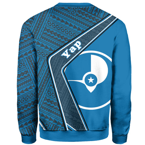 Yap Sweatshirt - Polynesian Coat Of Arms| Love The World