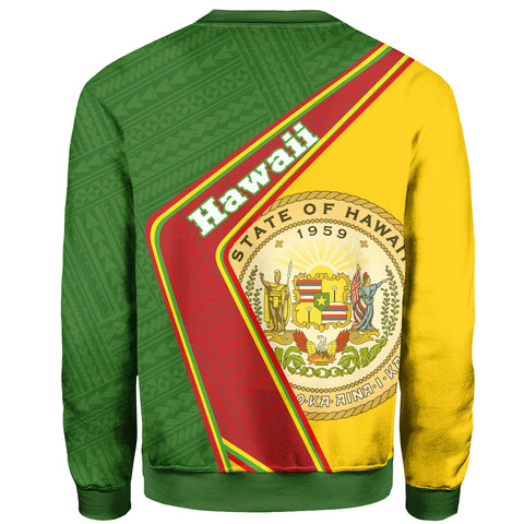Hawaii Sweatshirt - Polynesian Coat Of Arms | Love The World