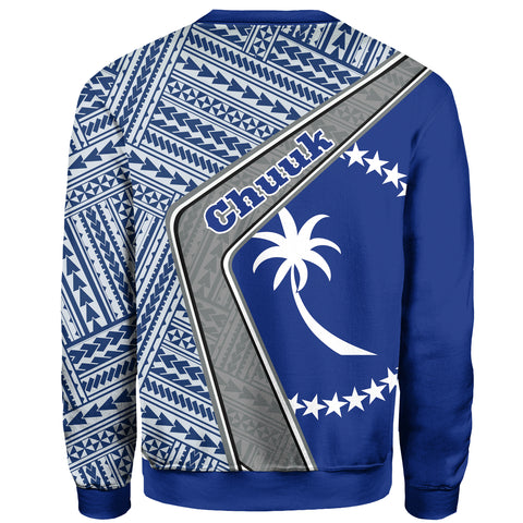 Chuuk Sweatshirt - Polynesian Coat Of Arms | Love The World