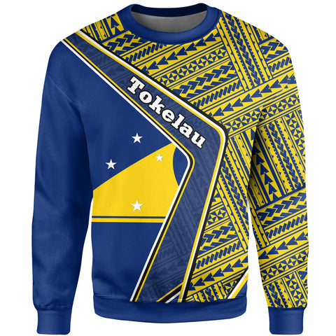 Tokelau Sweatshirt - Polynesian Coat Of Arms | Love The World