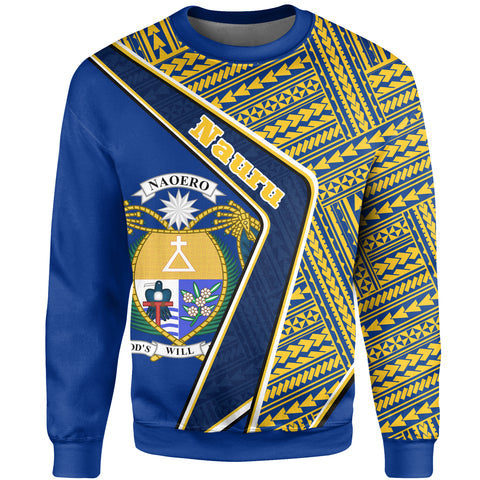 Nauru Sweatshirt - Polynesian Coat Of Arms | Love The World