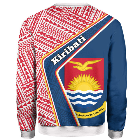 Kiribati Sweatshirt - Polynesian Coat Of Arms | Love The World