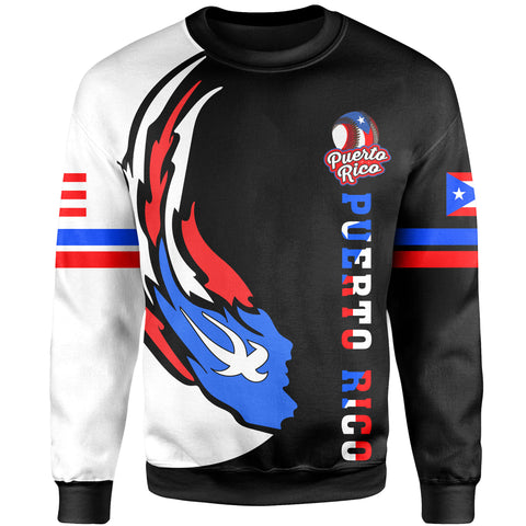 Puerto Rico Baseball Team Sweatshirt - Version 2
