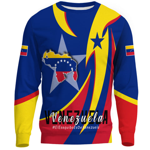 1stTheWorld Sweatshirt - Venezuela In My Heart A30