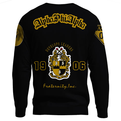Alpha Phi Alphla Establish 1906 Sweatshirt A27