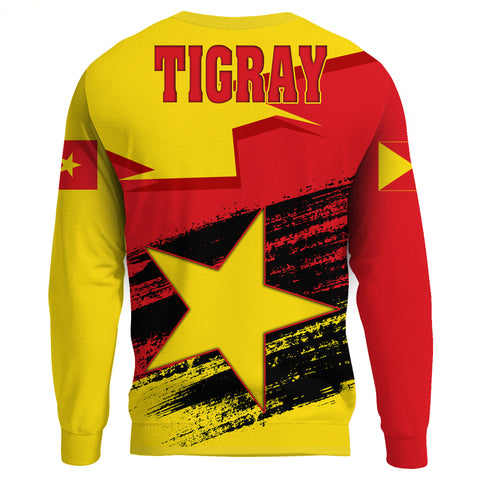 Tigray Flag And Map Special Sweatshirt A27