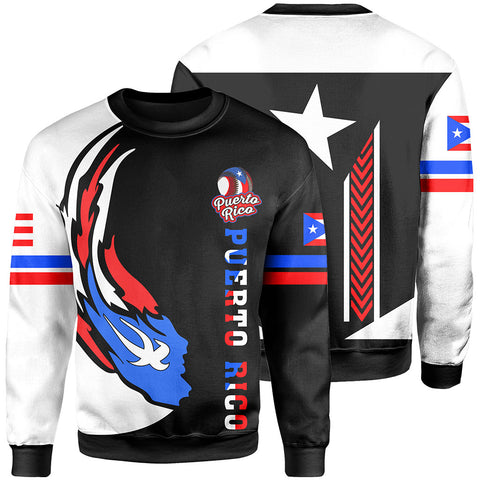 Puerto Rico Baseball Team Sweatshirt - Version 2 - J6