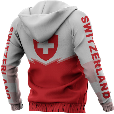Switzerland Zipper Hoodie