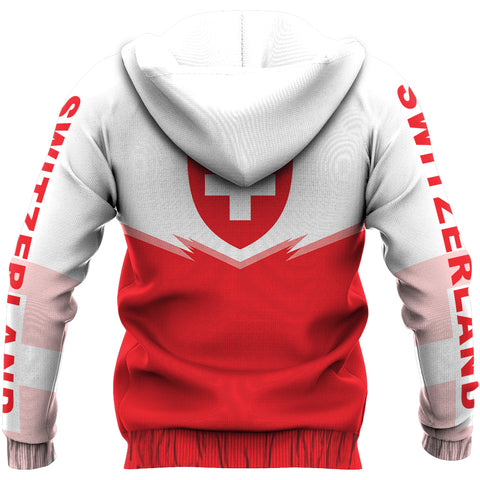 Image of Switzerland Zipper Hoodie - Energy Style Ver 2.0 J1