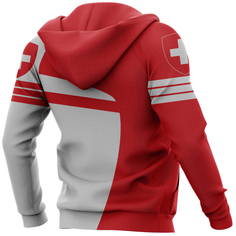 Switzerland Sport Zip-Up Hoodie - Premium Style J1