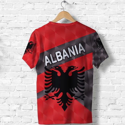 Image of Albania T Shirt Sporty Style K8