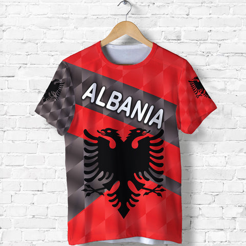 1st The World Albania T Shirt Sporty Style | Clothing | Love Albania