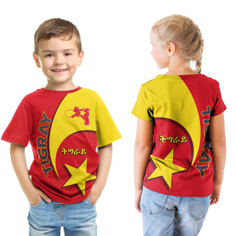1stTheWorld Tigray T-Shirt Kid New Release A25