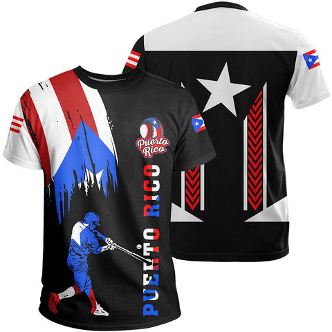 Puerto Rico Baseball Team T-Shirt - Version 3 - J6