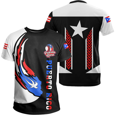 Puerto Rico Baseball Team T-Shirt - Version 2 - J6