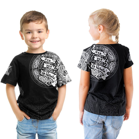 Viking T-Shirt Kid - See You In Valhalla A31